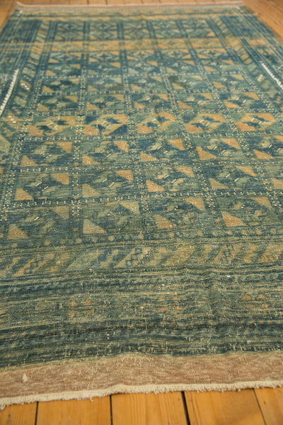 Vintage Distressed Belouch Carpet / ONH item sm001514 Image 9