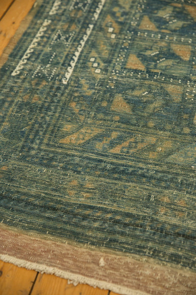 Vintage Distressed Belouch Carpet / ONH item sm001514 Image 10