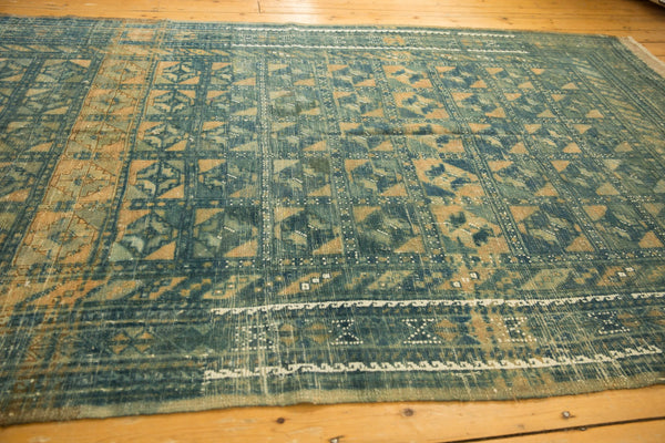 Vintage Distressed Belouch Carpet / ONH item sm001514 Image 11