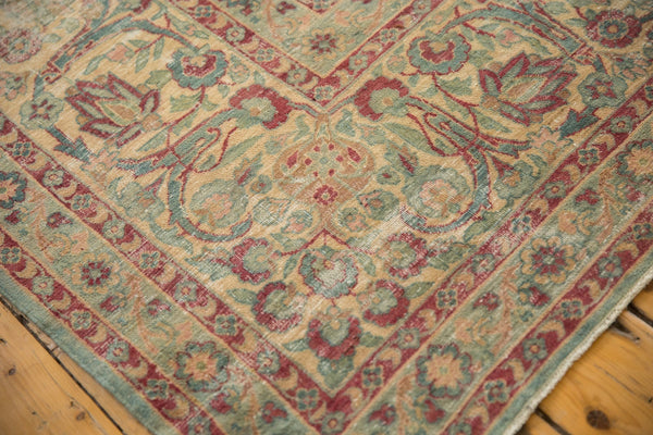 Vintage Distressed Kerman Square Carpet / ONH item sm001515 Image 12