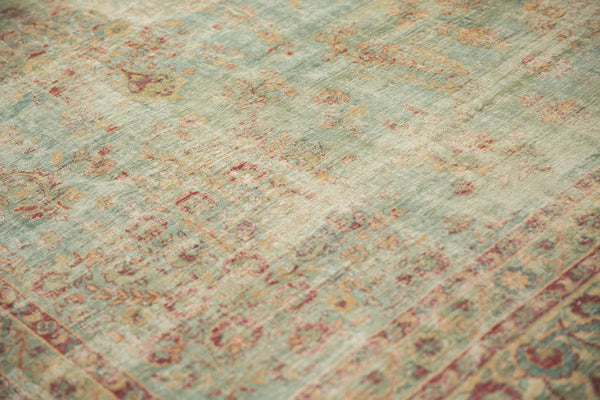 Vintage Distressed Kerman Square Carpet / ONH item sm001515 Image 13