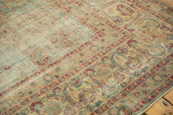 Vintage Distressed Kerman Square Carpet / ONH item sm001515 Image 15
