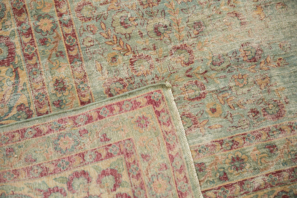 Vintage Distressed Kerman Square Carpet / ONH item sm001515 Image 16