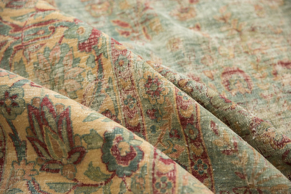 Vintage Distressed Kerman Square Carpet / ONH item sm001515 Image 17