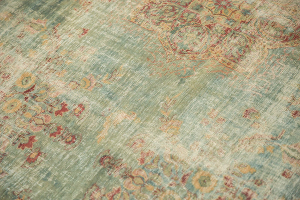 Vintage Distressed Kerman Square Carpet / ONH item sm001515 Image 18