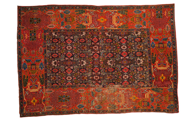 Antique Fragment Bijar Rug / ONH item sm001528