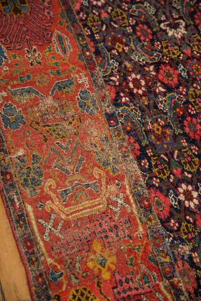Antique Fragment Bijar Rug / ONH item sm001528 Image 4