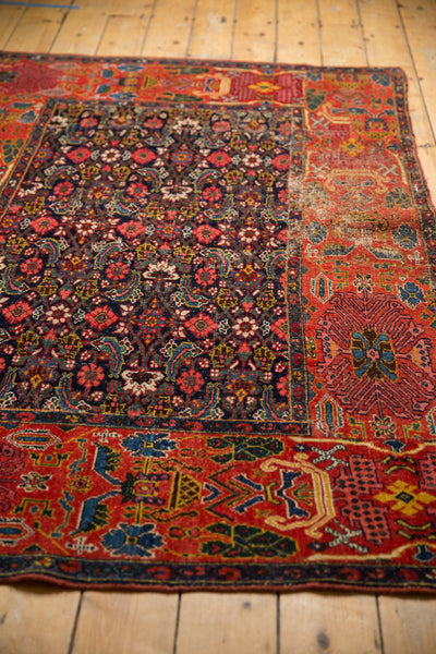 Antique Fragment Bijar Rug / ONH item sm001528 Image 9