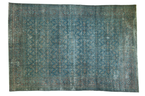 Vintage Distressed Tabriz Carpet / ONH item sm001532