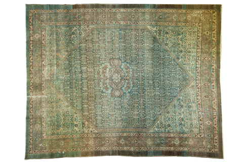 Vintage Distressed Malayer Carpet / ONH item sm001533