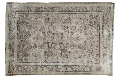 Vintage Distressed Mahal Carpet / ONH item sm001535