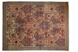 Antique Fragment Kerman Carpet / ONH item sm001539