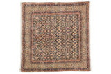 Vintage Distressed Sparta Square Rug / ONH item sm001546