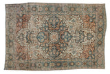 4.5x6.5 Antique Distressed Farahan Sarouk Rug // ONH Item sm001559