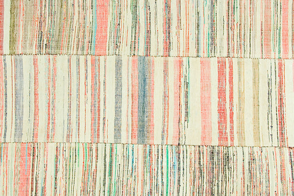 6x9 Colorful Accents Stripe Flatweave - Old New House