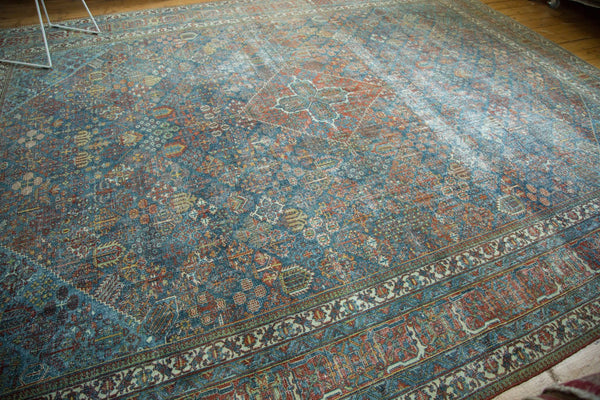 11x14 Vintage Distressed Fine Joshegan Carpet - Old New House