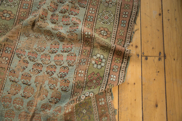 Antique Distressed Kurdish Rug Fragment / Item tm01118 image 2