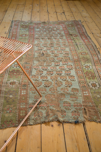 Antique Distressed Kurdish Rug Fragment / Item tm01118 image 5