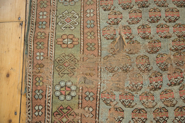 Antique Distressed Kurdish Rug Fragment / Item tm01118 image 7