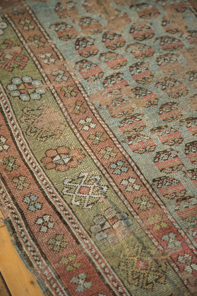 Antique Distressed Kurdish Rug Fragment / Item tm01118 image 12