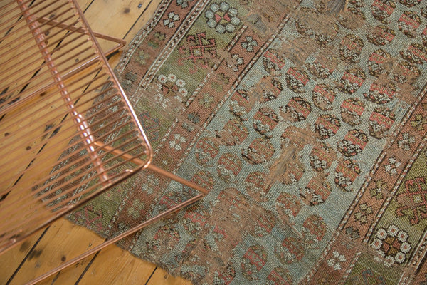 Antique Distressed Kurdish Rug Fragment / Item tm01118 image 13
