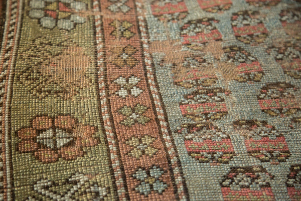 Antique Distressed Kurdish Rug Fragment / Item tm01118 image 14