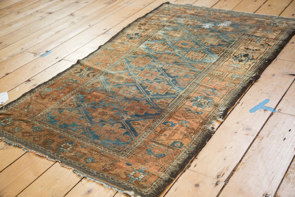 Antique Distressed Belouch Rug