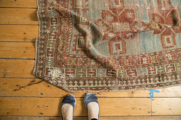 Antique Distressed Caucasian Rug / Item tm01124 image 2