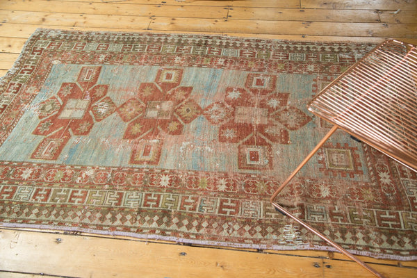 Antique Distressed Caucasian Rug / Item tm01124 image 3