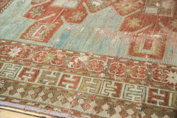 Antique Distressed Caucasian Rug / Item tm01124 image 4