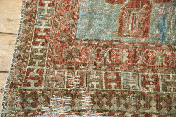 Antique Distressed Caucasian Rug / Item tm01124 image 5