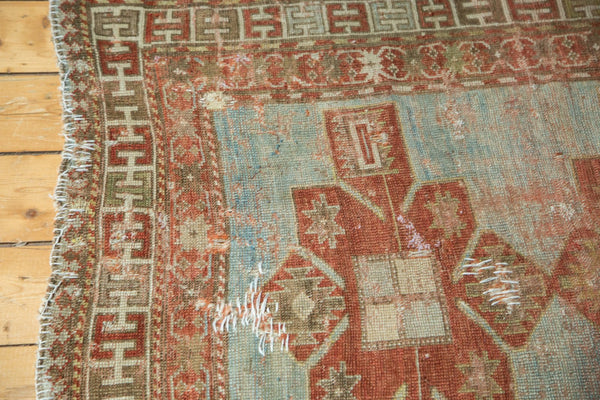 Antique Distressed Caucasian Rug / Item tm01124 image 6