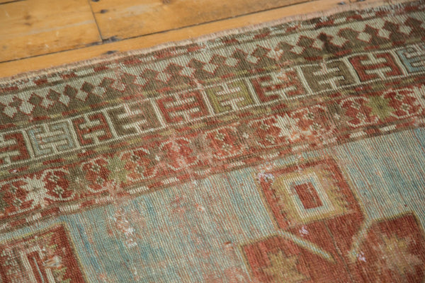 Antique Distressed Caucasian Rug / Item tm01124 image 8