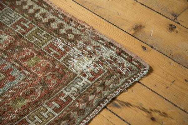 Antique Distressed Caucasian Rug / Item tm01124 image 9