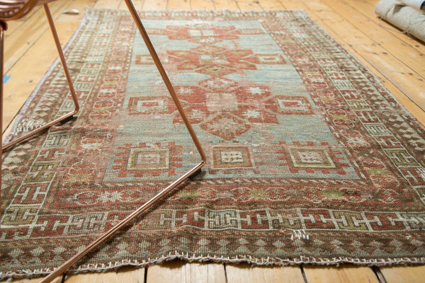 Antique Distressed Caucasian Rug / Item tm01124 image 10