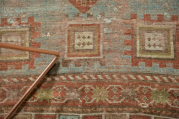 Antique Distressed Caucasian Rug / Item tm01124 image 12