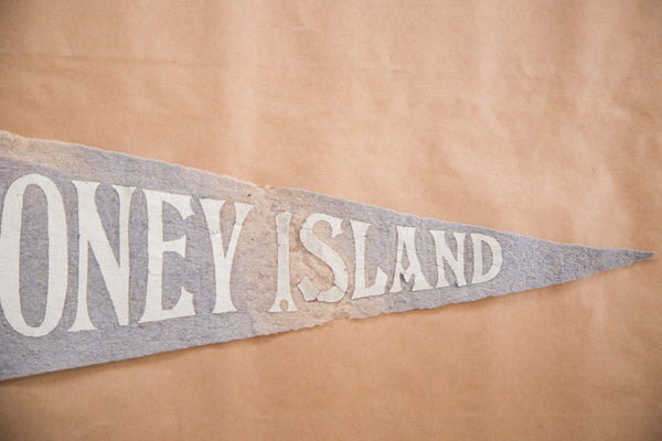Coney Island New York Felt Flag Pennant