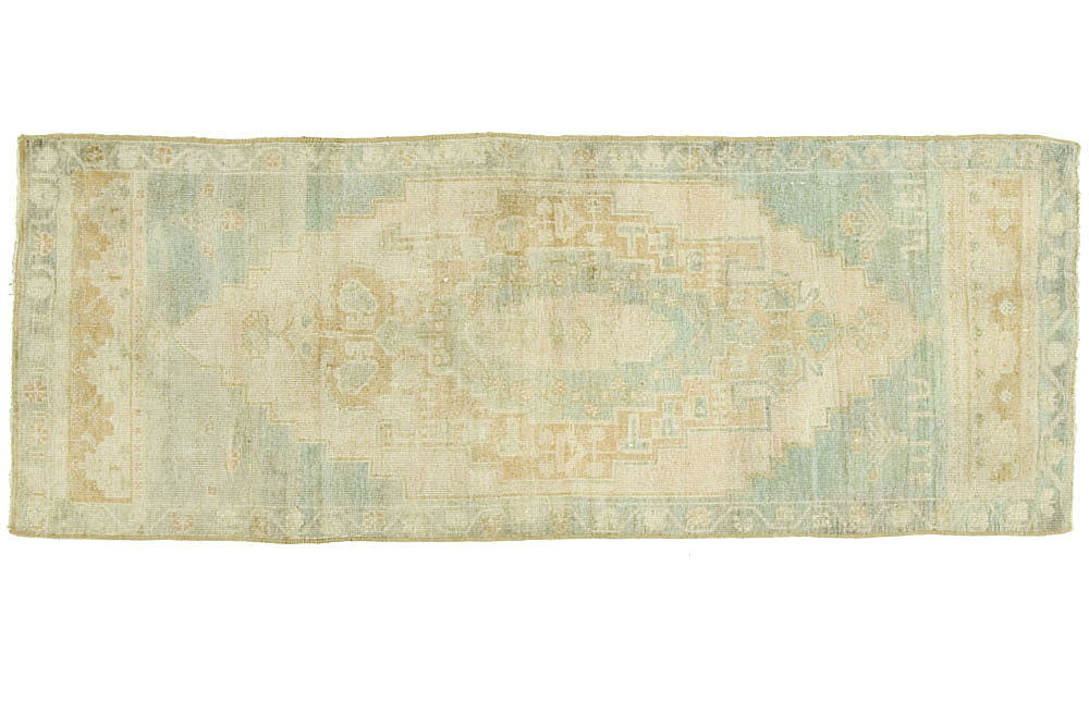 2.5x6 Vintage Oushak Rug - Old New House