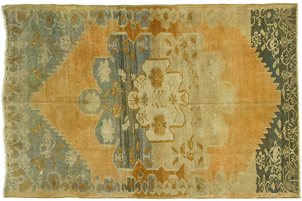 7x10 Vintage Oushak Rug - Old New House