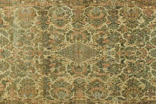 9x12 Vintage Persian Kerman - Old New House