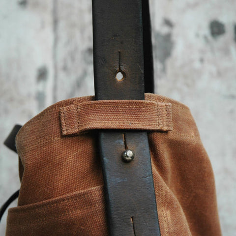 Peg and Awl Tote Bag in Spice