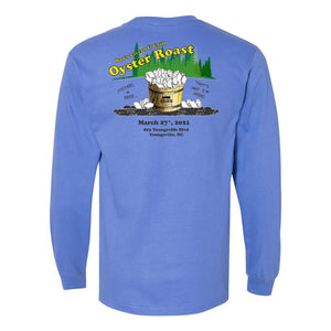 Bud's Tavern 2021 Oyster Roast Long Sleeve Tee