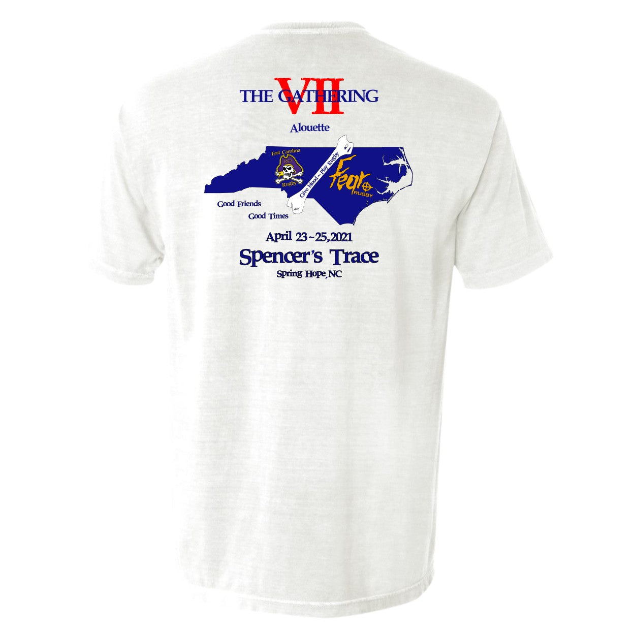 The Official Gathering VII Short Sleeve Pocket Tee by Comfort Colors