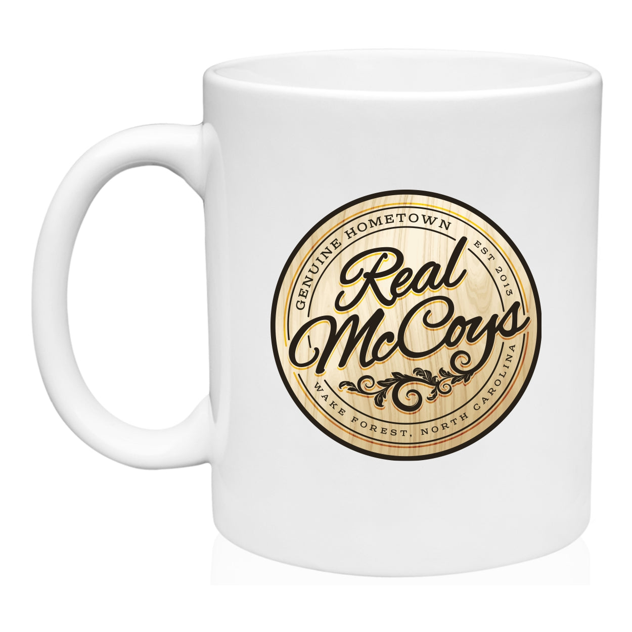 Real McCoy's Original Logo 11 oz. Coffee Mug