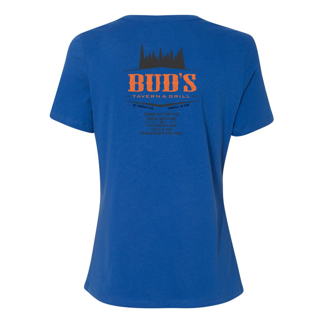 Official Bud's Tavern & Grill Logo Women's Tee