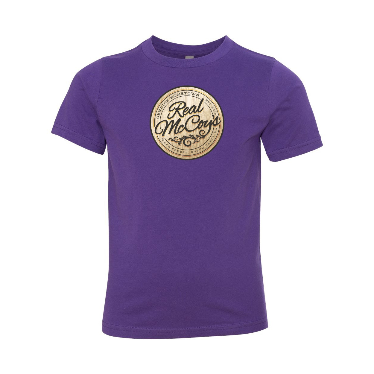 Real McCoy's Youth Logo Tee