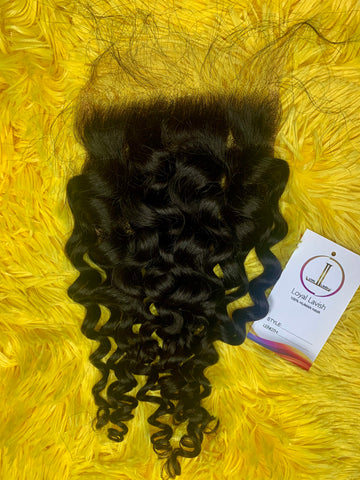 5*5 LUXURY SPANISH WAVE HD CLOSURE