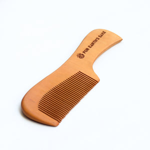 Bamboo Handle Comb