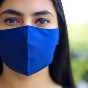 Eco Friendly Face Mask - Blue