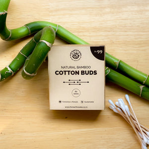 Natural Cotton Bamboo Buds